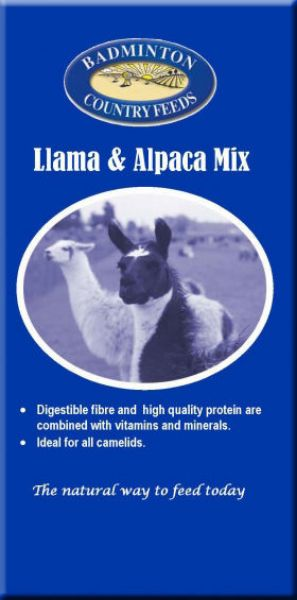 Picture of Badminton Llama / Alpaca Mix 20kg