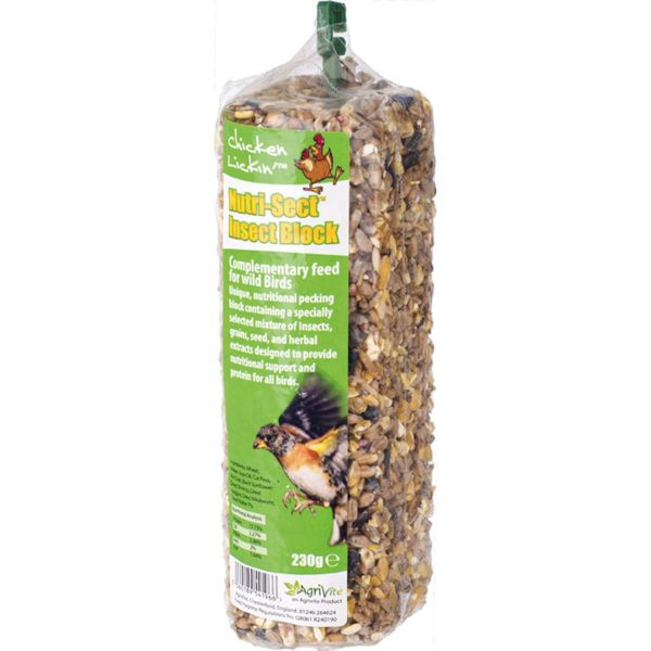 Picture of Agrivite Chicken Lickin Nutri-Sect Insect Block 230G