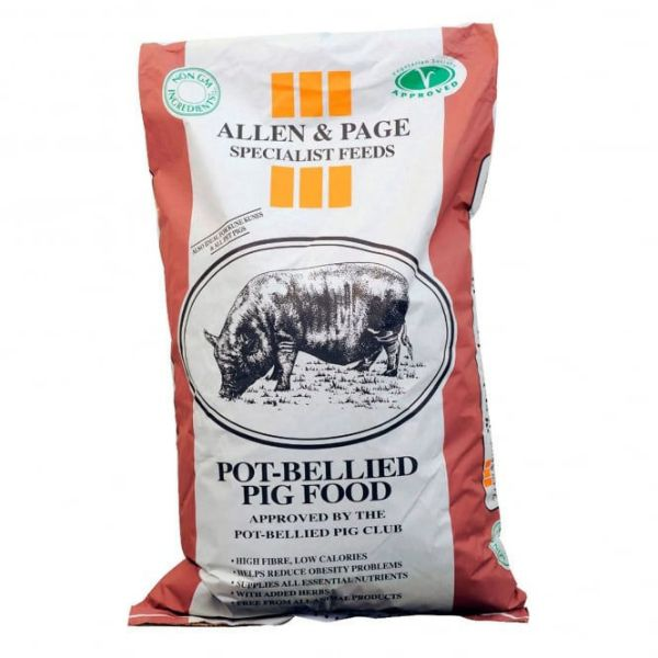Picture of Allen & Page Pot Bellied Pig 20kg
