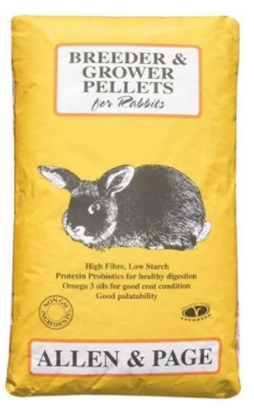 Picture of Allen and Page Rabbit Breeder / Grower 20kg