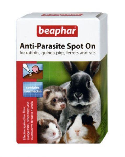 Picture of Beaphar Anti-Parasite Spot On Rabbit / Guinea 4 x Pipett