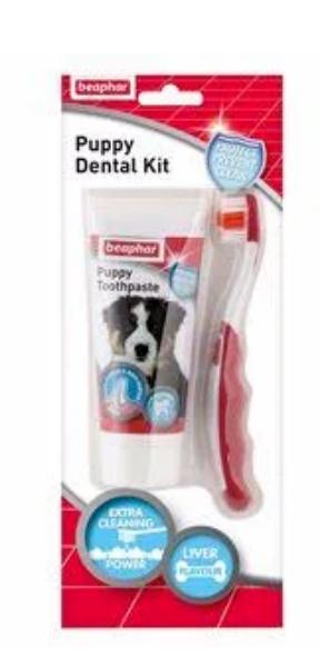 Picture of Beaphar Puppy Dental Kit 50g