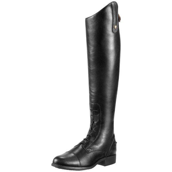 Picture of Ariat Heritage Contour Mens Field Boot Black