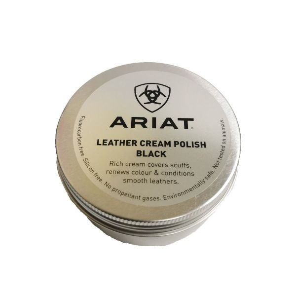 Picture of Ariat Leather Polish Black 100ml