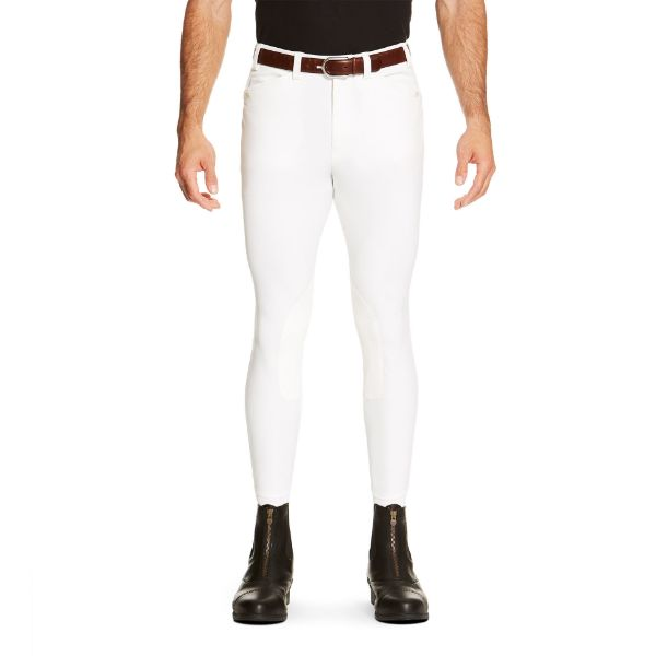Picture of Ariat Mens Heritage Elite Breech KP White
