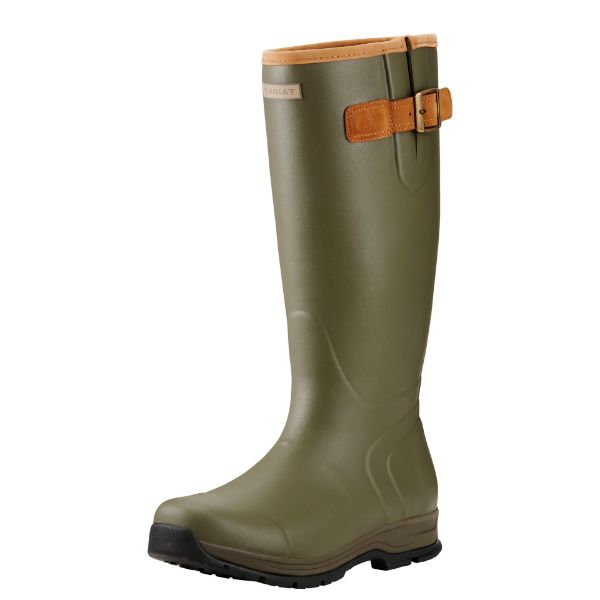 Picture of Ariat Mens Insulated Burford Olive Green