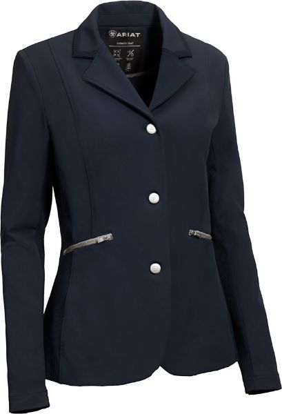 Picture of Ariat Womens Galatea Show Coat Navy