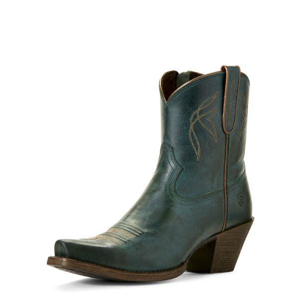 Picture of Ariat Womens Lovely Boots Blue Grass