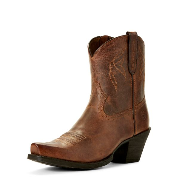 Picture of Ariat Womens Lovely Boots Sassy Brown