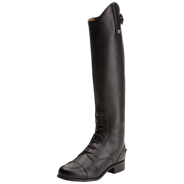 Picture of Ariat Youth Heritage Contour Zip Black