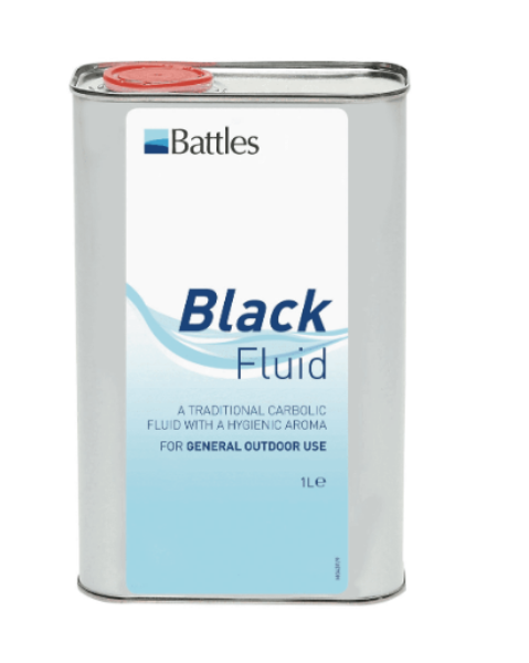 Picture of Battles Black Disinfectant 1L