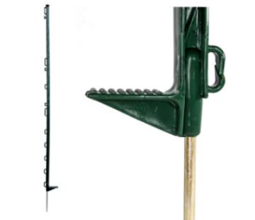 """Picture of Electric Fence Post Green 53"""" (Tall)"""