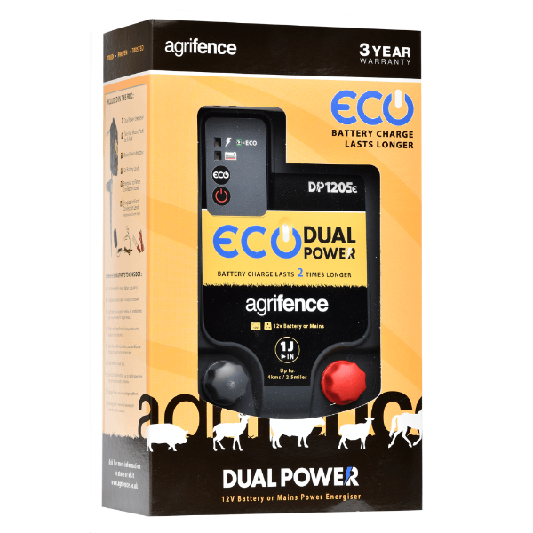 Picture of Agrifence DP1205e Energiser Dual Power Eco 1J