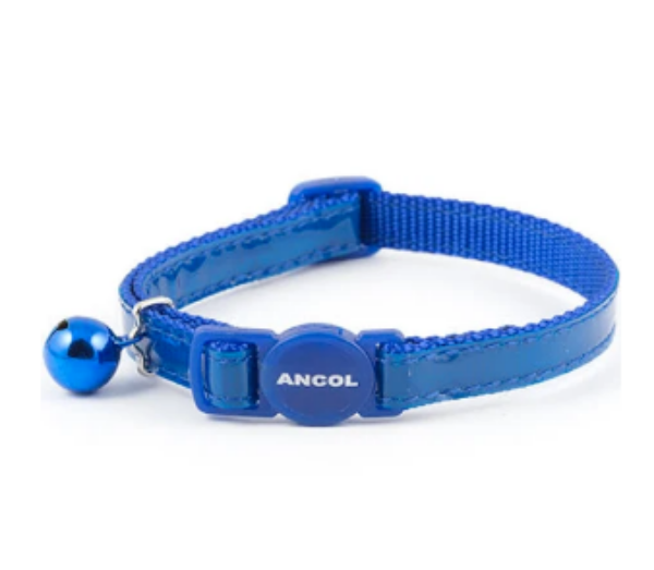 Picture of Ancol Reflective Cat Collar Blue