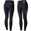 Picture of B Vertigo Xandra Womens BVX Silicone Full Seat Breeches BL/POPU
