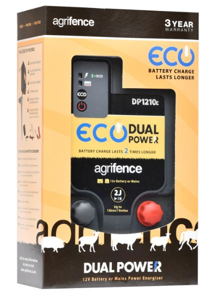Picture of Agrifence DP1210e Energiser Dual Power Eco 2J