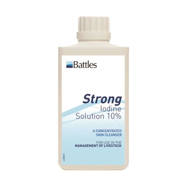 Picture of Battles Strong Iodine Solution 500ml