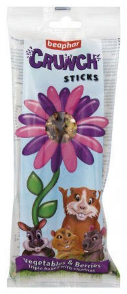 Picture of Beaphar Crunch Sticks Veg & Berries 2 Pack