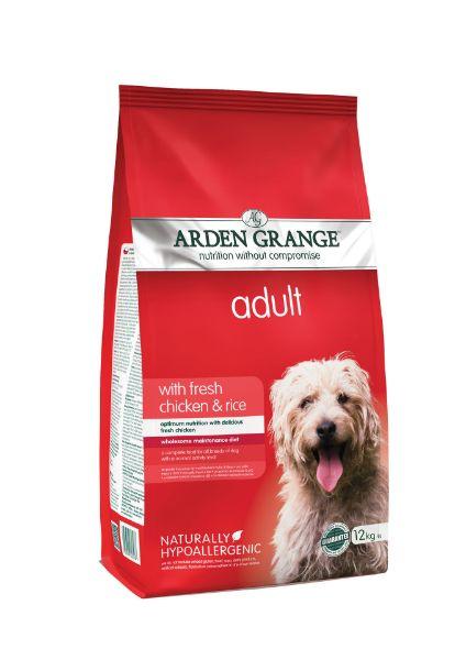 Picture of Arden Grange Dog - Adult Chicken & Rice