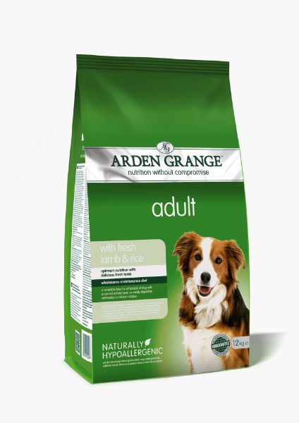 Picture of Arden Grange Dog - Adult Lamb & Rice