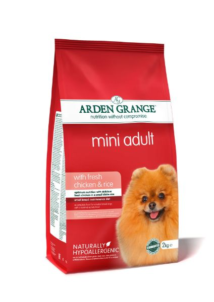 Picture of Arden Grange Dog - Adult Mini Breed Chicken & Rice