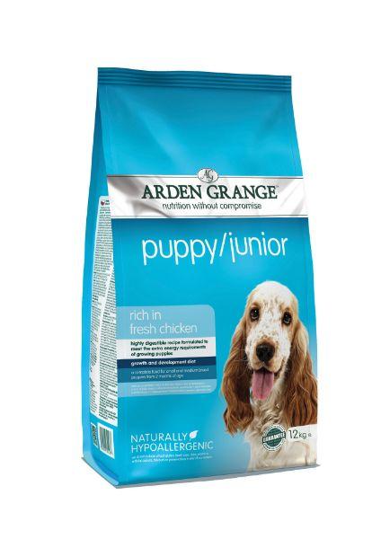 Picture of Arden Grange Puppy - Puppy / Junior Fresh Chicken