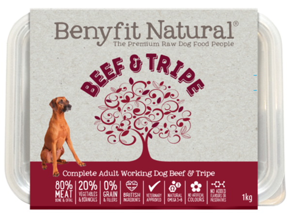 Picture of Benyfit Dog - Natural Beef & Tripe