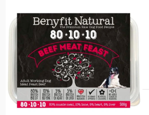 Picture of Benyfit Dog - Natural Beef Meat Feast 80*10*10