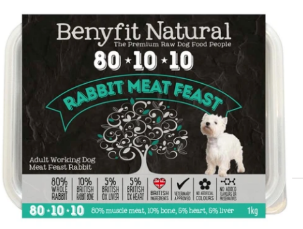 Picture of Benyfit Dog - Natural Rabbit Meat Feast 80*10*10