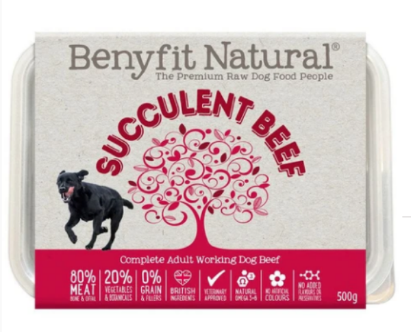 Picture of Benyfit Dog - Natural Succulent Beef
