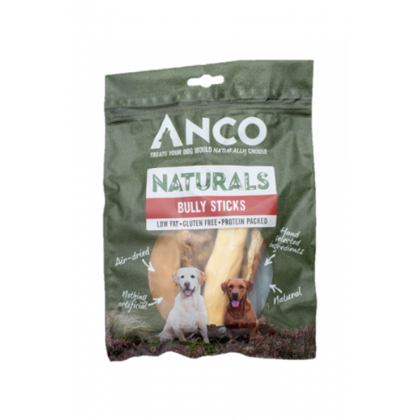 Picture of Anco Naturals Dog - Bully Sticks 100g