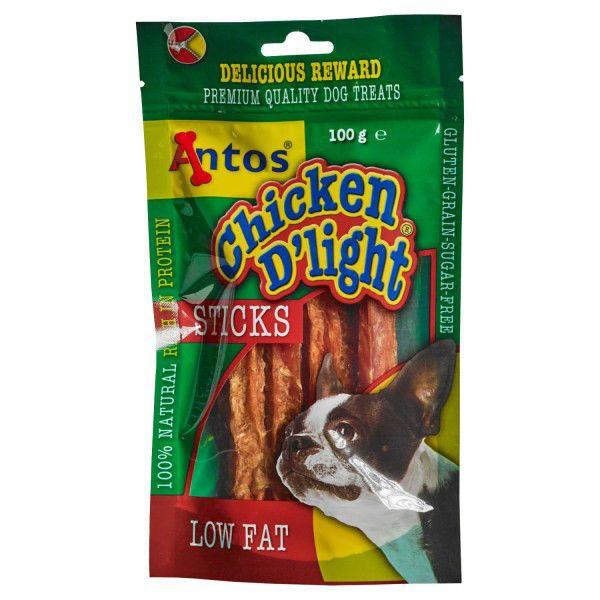 Picture of Antos Dog - Chicken D'Light Sticks 100g