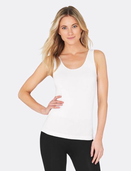 Picture of Boody Womens Tank Top White