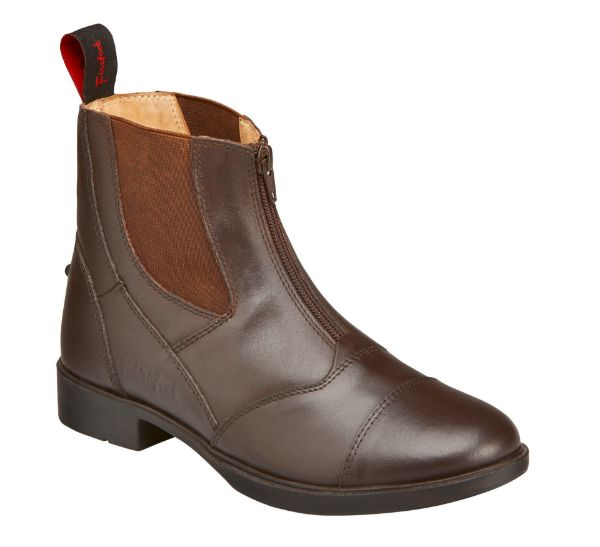 Picture of Firefoot Leather Zip Paddock Boot Brown