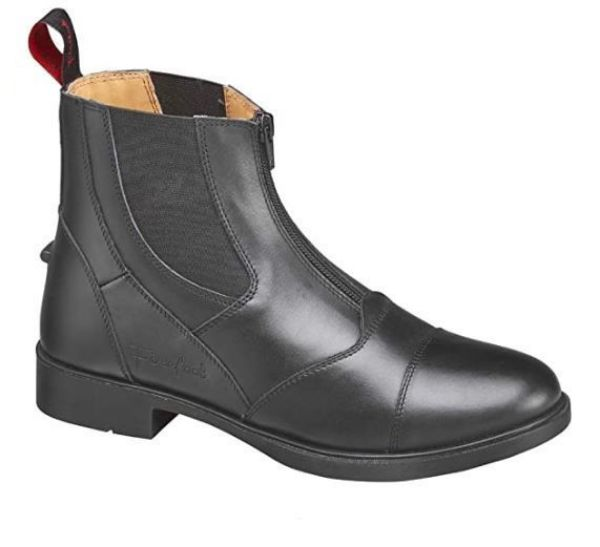 Picture of Firefoot Leather Zip Paddock Boot Black
