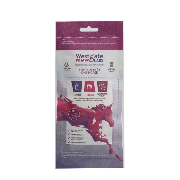 Picture of Westgate Laboratories Worm Count Kit One Horse