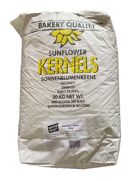Picture of Rokers Sunflower Hearts 20Kg