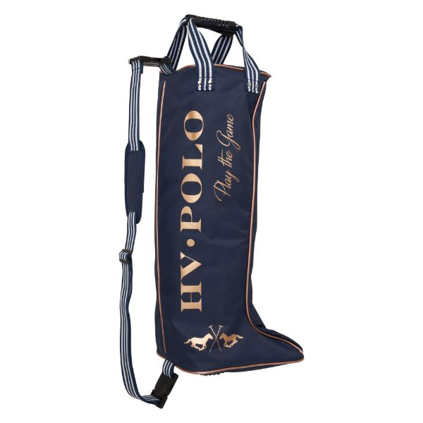 Picture of HV Polo Jill Boot Bag Navy/Rose Gold