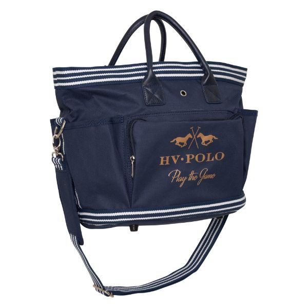 Picture of HV Polo Jonie Grooming Bag Navy/Rose Gold