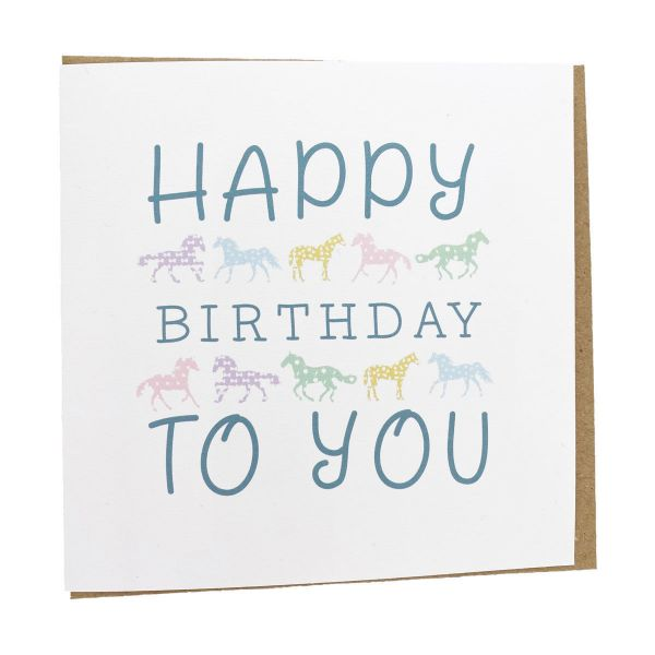 Picture of Gubblecote Beautiful Greetings Card Happy Birthday
