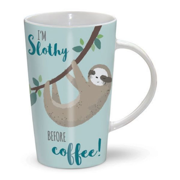 Picture of Otter House Latte Mug Im Slothy