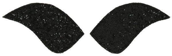 Picture of Equi Theme My Primera Velco Attachment Glitter Black