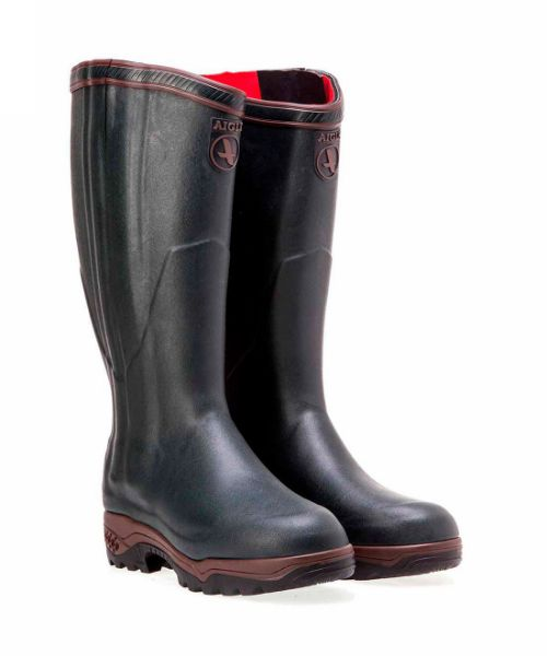 Picture of Aigle Parcours 2 Iso Open Rubber Boots Bronze