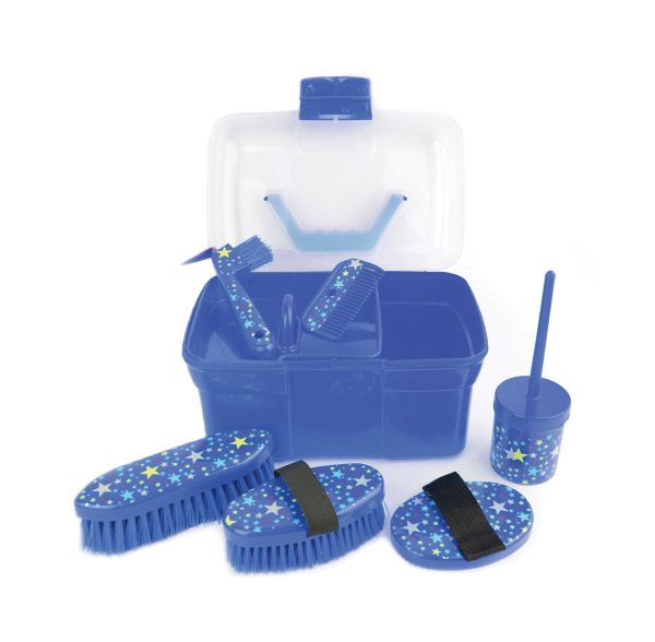 Picture of Lincoln Star Pattern Grooming Kit Navy