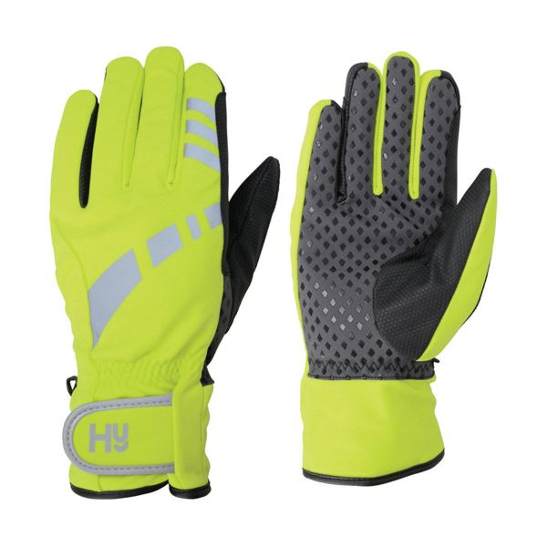 Picture of Hy Reflective Waterproof Multipurpose Gloves Yellow/Black