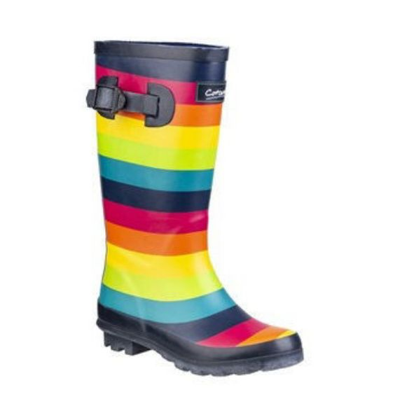 Picture of Cotswold Kids Rainbow Welly Multi
