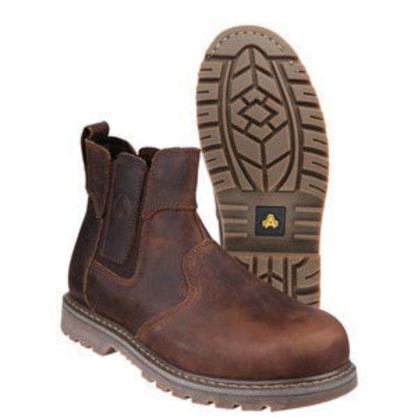 Picture of Amblers FS165 SBP Dealer Boot Brown
