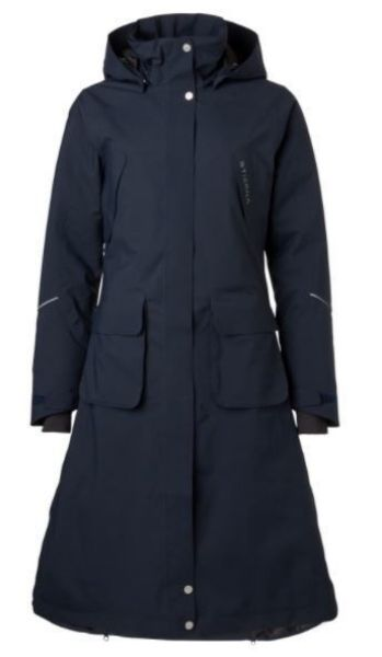 Picture of Stierna Stella Long Winter Coat Navy