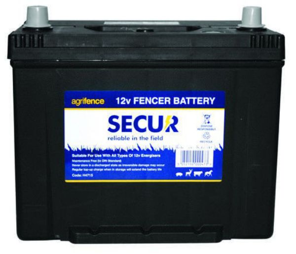 Picture of Agrifence 12V Rechargeable Fencer Leisure Battery