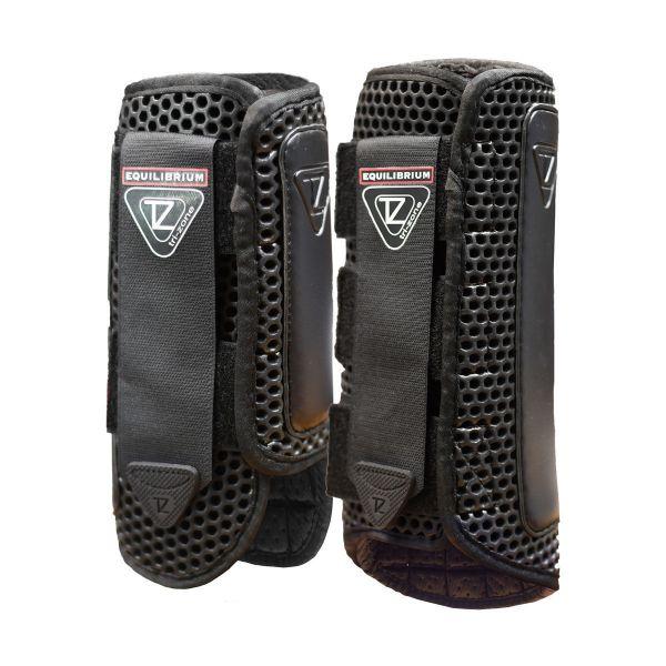 Picture of Equilibrium Tri-Zone Impact Sports Boots Black Medium Front